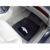 "FANMATS NFL - Denver Broncos Heavy Duty 2-Piece Vinyl Car Mats 17""x27"""