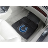 "FANMATS NFL - Indianapolis Colts Heavy Duty 2-Piece Vinyl Car Mats 17""x27"""