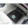 "FANMATS NFL - Miami Dolphins Heavy Duty 2-Piece Vinyl Car Mats 17""x27"""