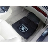 "FANMATS NFL - Oakland Raiders Heavy Duty 2-Piece Vinyl Car Mats 17""x27"""