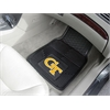 "FANMATS Georgia Tech Heavy Duty 2-Piece Vinyl Car Mats 17""x27"""