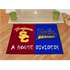 "FANMATS USC - UCLA House Divided Rugs 33.75""x42.5"""