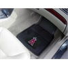 "FANMATS MLB - Los Angeles Angels Heavy Duty 2-Piece Vinyl Car Mats 17""x27"""