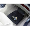 "FANMATS NFL - St. Louis Rams Heavy Duty 2-Piece Vinyl Car Mats 17""x27"""