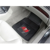 "FANMATS NFL - Tampa Bay Buccaneers Heavy Duty 2-Piece Vinyl Car Mats 17""x27"""