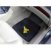 "FANMATS West Virginia Heavy Duty 2-Piece Vinyl Car Mats 17""x27"""
