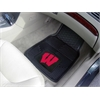 "FANMATS Wisconsin Heavy Duty 2-Piece Vinyl Car Mats 17""x27"""
