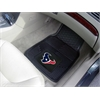 "FANMATS NFL - Houston Texans Heavy Duty 2-Piece Vinyl Car Mats 17""x27"""