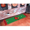 FANMATS Louisville Putting Green Runner