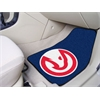 "FANMATS NBA - Atlanta Hawks 2-piece Carpeted Car Mats 17""x27"""