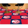 "FANMATS NBA - Atlanta Hawks Carpet Tiles 18""x18"" tiles"