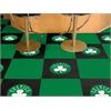 "FANMATS NBA - Boston Celtics Carpet Tiles 18""x18"" tiles"