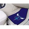 "FANMATS NBA - Charlotte Hornets 2-piece Carpeted Car Mats 17""x27"""