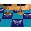 "FANMATS NBA - Charlotte Hornets Carpet Tiles 18""x18"" tiles"