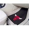 """FANMATS NBA - Chicago Bulls 2-piece Carpeted Car Mats 17""""x27"""""""