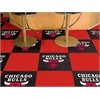 "FANMATS NBA - Chicago Bulls Carpet Tiles 18""x18"" tiles"