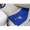 "FANMATS NBA - Detroit Pistons 2-piece Carpeted Car Mats 17""x27"""