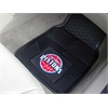 "FANMATS NBA - Detroit Pistons Heavy Duty 2-Piece Vinyl Car Mats 17""x27"""