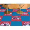 "FANMATS NBA - Detroit Pistons Carpet Tiles 18""x18"" tiles"