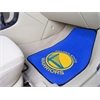 "FANMATS NBA - Golden State Warriors 2-piece Carpeted Car Mats 17""x27"""
