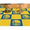"FANMATS NBA - Golden State Warriors Carpet Tiles 18""x18"" tiles"