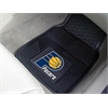 "FANMATS NBA - Indiana Pacers Heavy Duty 2-Piece Vinyl Car Mats 17""x27"""