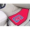 "FANMATS NBA - Los Angeles Clippers 2-piece Carpeted Car Mats 17""x27"""