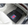 "FANMATS NBA - Los Angeles Clippers Heavy Duty 2-Piece Vinyl Car Mats 17""x27"""