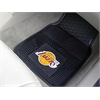 "FANMATS NBA - Los Angeles Lakers Heavy Duty 2-Piece Vinyl Car Mats 17""x27"""