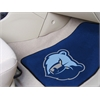 "FANMATS NBA - Memphis Grizzlies 2-piece Carpeted Car Mats 17""x27"""