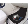 "FANMATS NBA - Minnesota Timberwolves 2-piece Carpeted Car Mats 17""x27"""