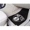 "FANMATS NBA - Brooklyn Nets 2-piece Carpeted Car Mats 17""x27"""