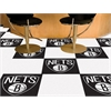 "FANMATS NBA - Brooklyn Nets Carpet Tiles 18""x18"" tiles"