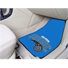 "FANMATS NBA - Orlando Magic 2-piece Carpeted Car Mats 17""x27"""