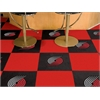 "FANMATS NBA - Portland Trail Blazers Carpet Tiles 18""x18"" tiles"