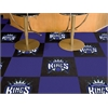 "FANMATS NBA - Sacramento Kings Carpet Tiles 18""x18"" tiles"