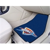 "FANMATS NBA - Oklahoma City Thunder 2-piece Carpeted Car Mats 17""x27"""