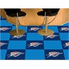 "FANMATS NBA - Oklahoma City Thunder Carpet Tiles 18""x18"" tiles"