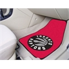 "FANMATS NBA - Toronto Raptors 2-piece Carpeted Car Mats 17""x27"""