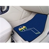 "FANMATS NBA - Utah Jazz 2-piece Carpeted Car Mats 17""x27"""