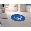 "FANMATS Air Force Round Rug 44"" diameter"