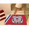 "FANMATS Coast Guard All-Star Mat 33.75""x42.5"""