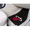 "FANMATS NBA - Miami Heat 2-piece Carpeted Car Mats 17""x27"""
