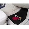 "FANMATS NBA - Miami Heat 2-piece Carpeted Car Mats 17""x27"""