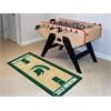 "FANMATS Michigan State Basketball Court Runner 30""x72"""