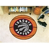 "FANMATS NBA - Toronto Raptors Basketball Mat 27"" diameter"