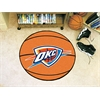 "FANMATS NBA - Oklahoma City Thunder Basketball Mat 27"" diameter"