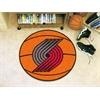 "FANMATS NBA - Portland Trail Blazers Basketball Mat 27"" diameter"