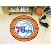 "FANMATS NBA - Philadelphia 76ers Basketball Mat 27"" diameter"