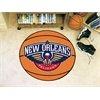 "FANMATS NBA - New Orleans Pelicans Basketball Mat 27"" diameter"